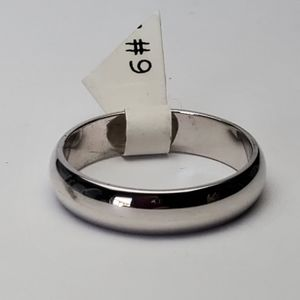 Other - Silver plated band ring